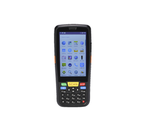Handheld QR Code 1D 2D Barcode Pda Scanner With Android OS High Efficiency