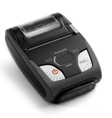 Rugged Mobile Shipping Label Printer , Portable Thermal Printer Bluetooth