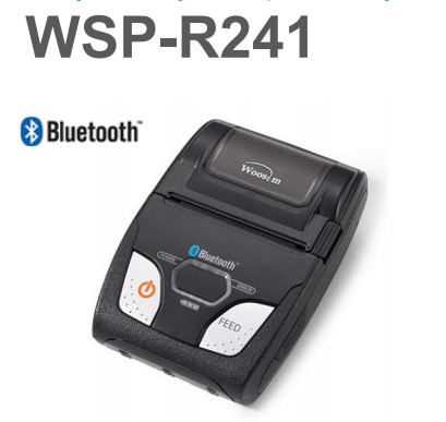 Compact Entry Level Mini Portable Bluetooth Thermal Receipt Printer Support 2d Barcode